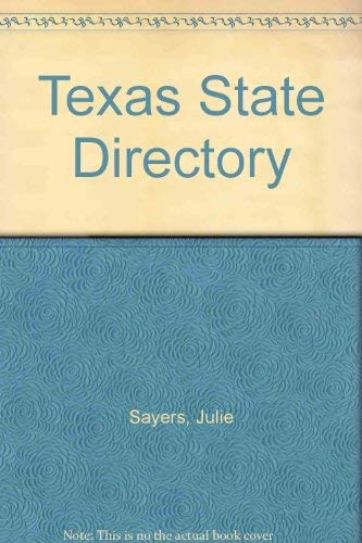 9780934367509: Texas State Directory