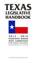 9780934367707: Texas Legislative Handbook 2013-2014: Legislative Roster With Committees 83rd Session