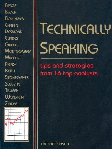 9780934380393: Technically Speaking