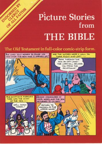 Jimmy Swaggart Presents Picture Stories from the Bible: The Old Testament in Full-Color Comic-Str...