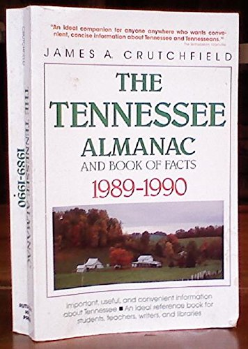 9780934395601: The Tennessee Almanac and Book of Facts 1989-1990