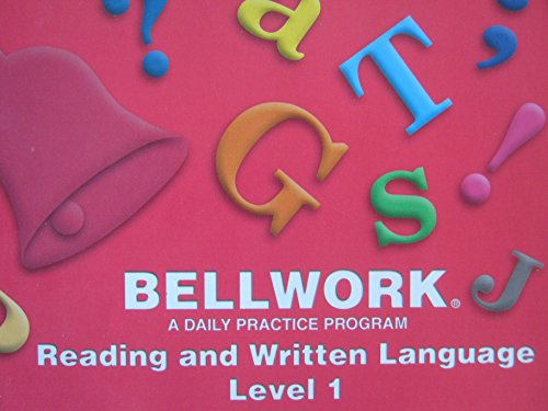 Bellwork: Reading and Written Language Level 1: Bellwork