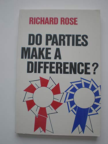 9780934540087: Do parties make a difference? (Chatham House series on change in American politics)