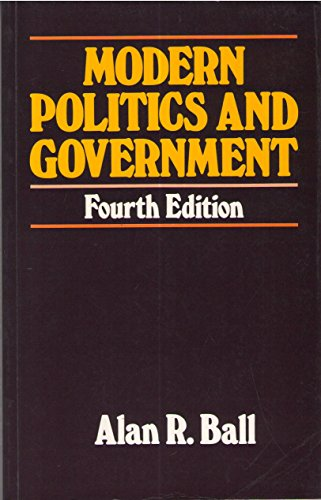 9780934540452: Modern Politics and Government