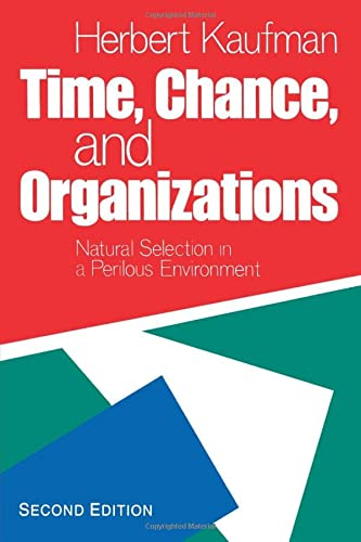 9780934540933: Time, Chance and Organizations: Natural Selection in a Perilous Environment, 2nd Edition