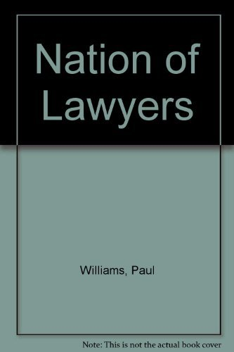 Nation of Lawyers: Williams, Paul