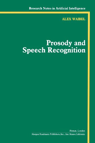 9780934613705: Prosody and Speech Recognition (Research Notes in Artificial Intelligence)