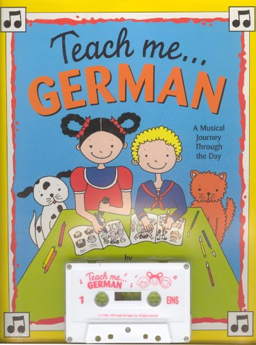 9780934633079: Teach Me German (Paperback and Audio Cassette): A Musical Journey Through the Day