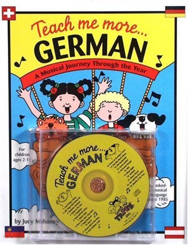 9780934633215: Teach Me More German (Paperback and Audio CD): A Musical Journey Through the Year