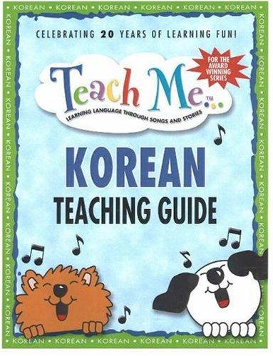 9780934633406: Teach Me Korean Teaching Guide (Teach Me (Teacher Guides Penton))