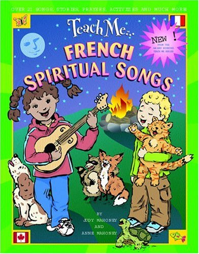 9780934633505: Teach Me French Spiritual Songs (Paperback and CD) (English and French Edition)