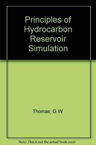 9780934634113: Principles of Hydrocarbon Reservoir Simulation