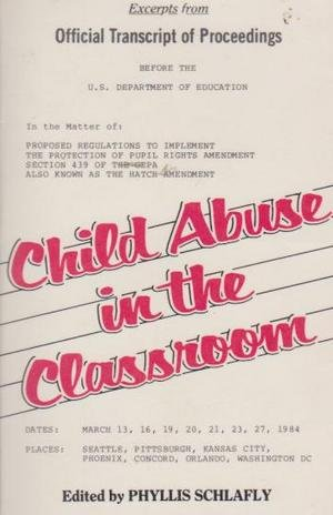 9780934640107: Child Abuse in the Classroom
