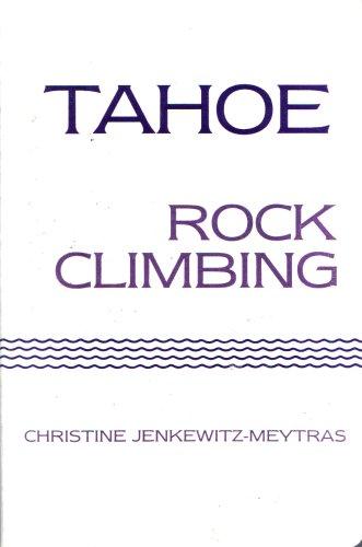 9780934641043: Tahoe: Rock climbing