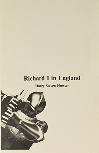 9780934667043: Richard I in England (Medieval People)