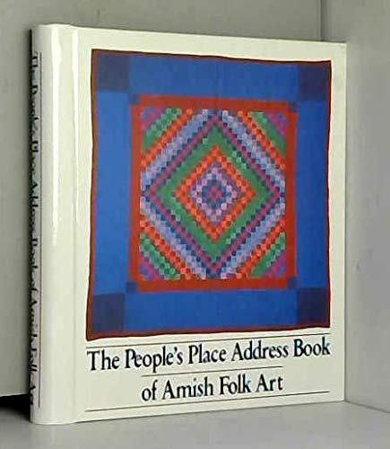 9780934672498: The People's Place Address Book of Amish Folk Art