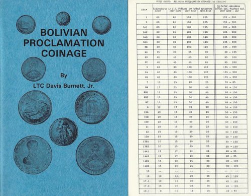9780934693004: Bolivian Proclamation Coinage