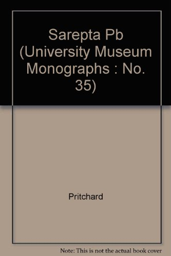 9780934718240: Sarepta: A Preliminary Report on the Iron Age (University Museum Monographs, No. 35)