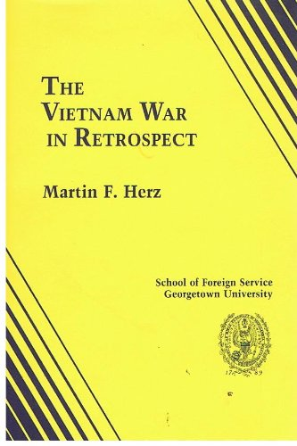 9780934742283: The Vietnam War in retrospect: Four lectures