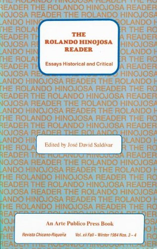 9780934770309: Rolando Hinojosa Reader: Essays Historical and Critical
