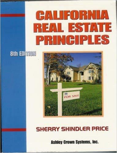 9780934772242: California Real Estate Principles