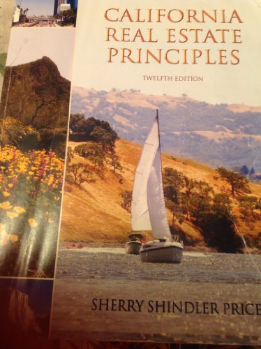 9780934772471: California Real Estate Principles (12th Edition) Paperback