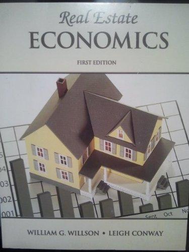 9780934772594: Real Estate Economics