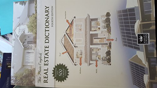 Plain English Real Estate Dictionary Second Edition: Judith Moyer, Nicole
