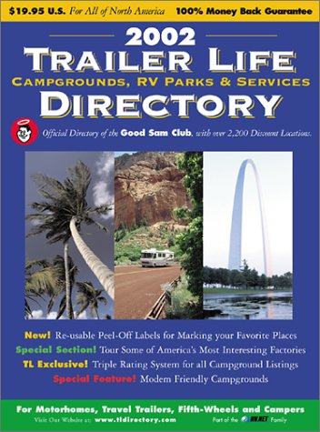 9780934798679: 2002 Trailer Life Directory: Campgrounds, RV Parks, and Services