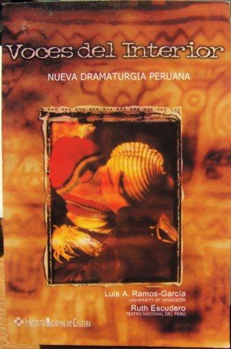 9780934840194: Voces Del Interior: Nueva Dramaturgia Peruana