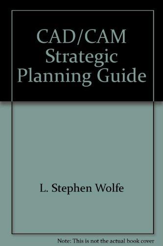9780934869133: CAD/CAM strategic planning guide