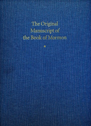 9780934893046: The Original Manuscript of the Book of Mormon: Typographical Facsimile of the Extant Text