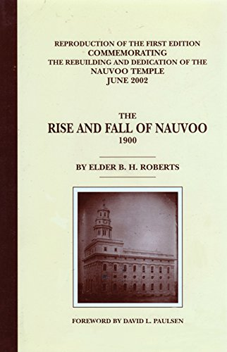 9780934893671: The Rise and Fall of Nauvoo