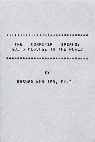 9780934894388: Computer Speaks: God's Message to the World