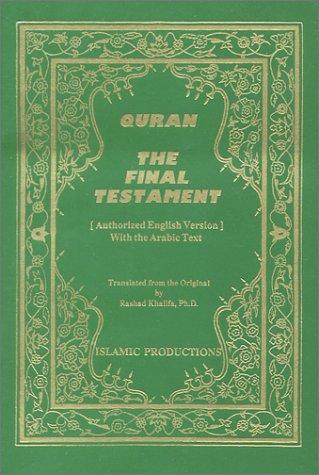 9780934894760: Quran: The Final Testament