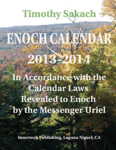 9780934917179: ENOCH CALENDAR 2013-2014