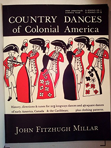 9780934943291: Country Dances of Colonial America
