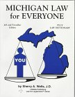 9780934981071: Michigan Law for Everyone: Plus Law Dictionary