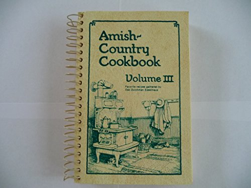 9780934998499: Amish-Country Cookbook, Vol. 3