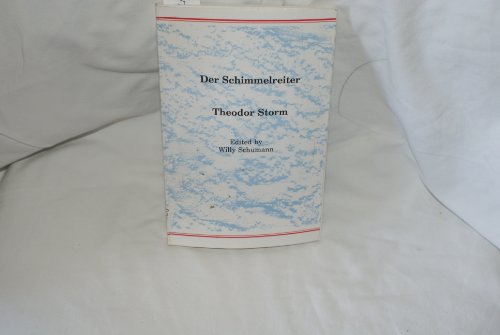 Theodor Storm: Der Schumann (0935005013) by Schumann, Willy
