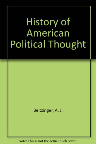 9780935005943: History of American Political Thought