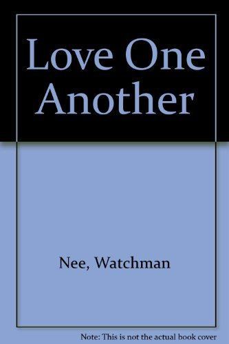 9780935008098: Love One Another (Basic Lesson)