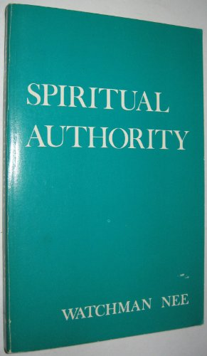 9780935008340: Spiritual Authority