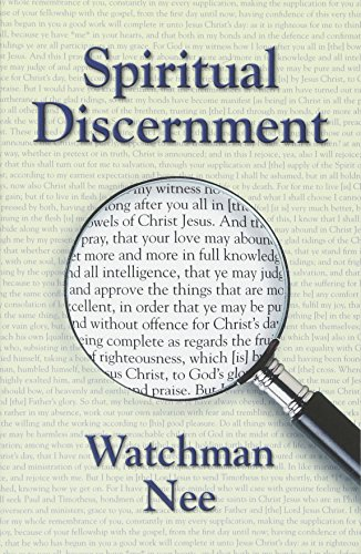 Spiritual Discernment (0935008918) by Watchman Nee