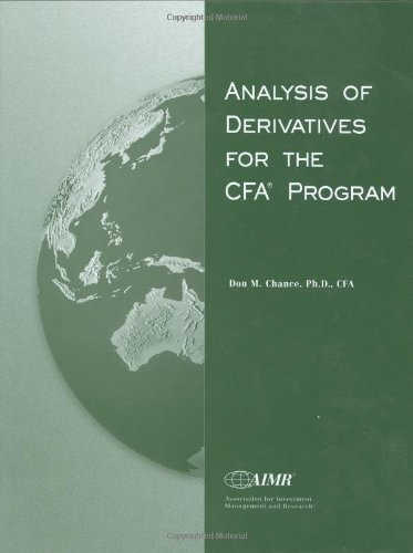 9780935015935: Analysis of Derivatives for the CFA Program