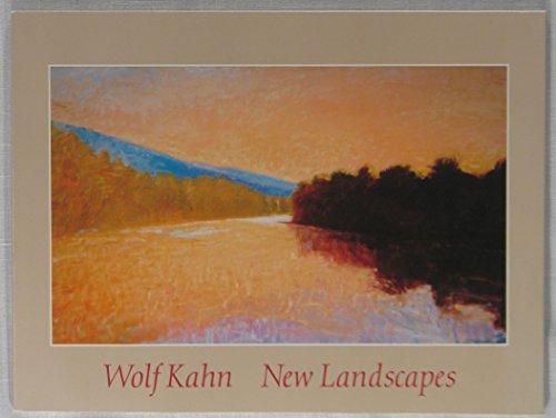 9780935037197: Wolf Kahn New Landscapes