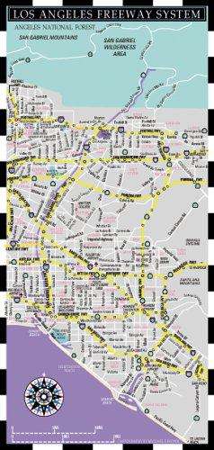 9780935039115: Los Angeles Freeways Mini Metro/Map (Mini Metro Maps)
