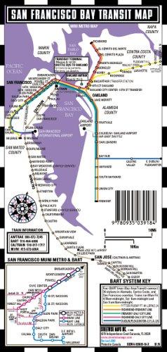 9780935039184: San Francisco Mini Bus Map & Bay Transit Map (Mini Metro Maps)