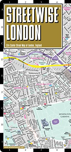 9780935039276: Streetwise London Map - Laminated City Center Street Map of London, England