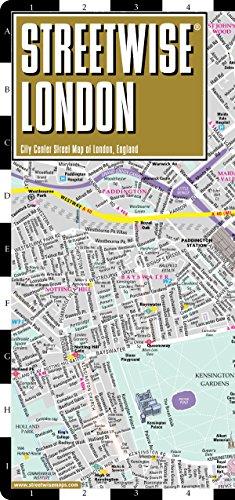 9780935039276: Streetwise London Map - Laminated City Center Street Map of London, England